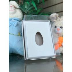 Embalagem para ovo de colher Branca - 01382 - EMBALAGENS CRIATIVA