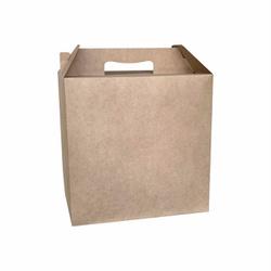 Maleta delivery kraft - 0036 - EMBALAGENS CRIATIVA