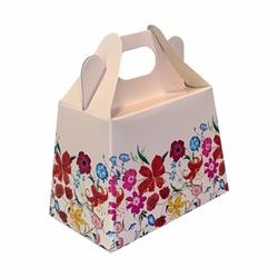 Maletinha - Ideal para semijoias - Floral - 060120... - EMBALAGENS CRIATIVA