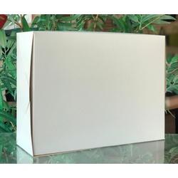 Caixa na cor branco tampa basculante - 0024 - EMBALAGENS CRIATIVA