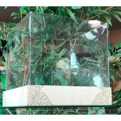 Caixa para bolo com tampa transparente - 0046 - EMBALAGENS CRIATIVA
