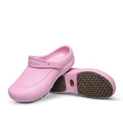 Babuche Rosa BB60 Soft Works Calçado de Segurança EPI Antiderrapante - Empório Materno