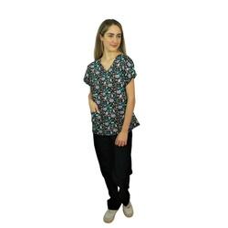 Pijama Cirúrgico Feminino - Medical Nursing 04 - Empório Materno