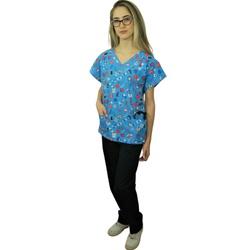 Pijama Cirúrgico Feminino - Medical Nursing 06 - Empório Materno