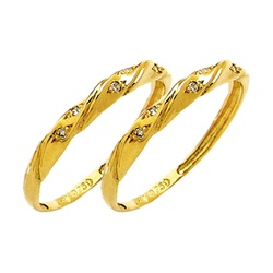 Par de Aparador de Aliança para noivado e casament... - EMPORIUM DAS ALIANÇAS