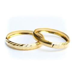 Par Aparador de aliança em Ouro para noivado e cas... - EMPORIUM DAS ALIANÇAS