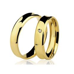 Alianças de casamento e noivado em ouro 18k 750 cô... - EMPORIUM DAS ALIANÇAS