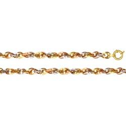 Pulseira de Ouro 3 cores 18k Colorare - Colorare - EMPORIUM DAS ALIANÇAS
