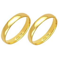 Alianças de casamento e noivado em ouro 18k 750 an... - EMPORIUM DAS ALIANÇAS