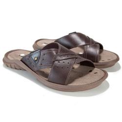 Chinelo Masculino Energiflex Vulcão - Chocolate - ... - Energiflex
