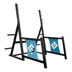 Suporte para Agachamento e Supino Profissional Pri... - Equipamentos Line Fitness