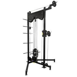 Estação de Musculação / Mono Cross Over Polia Simp... - Equipamentos Line Fitness