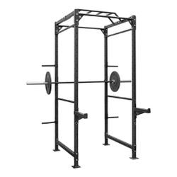 Gaiola Power Rack Completa + Acessórios + Escada - Equipamentos Line Fitness