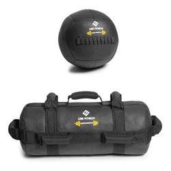 Kit De Wall Ball + Power Bag Crossfit Funcional - Equipamentos Line Fitness