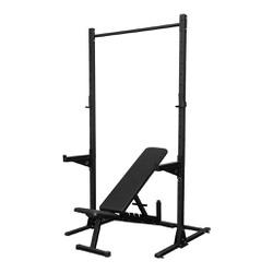 Rack Agachamento Com Banco Regulável Supino Muscul... - Equipamentos Line Fitness