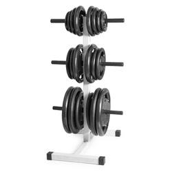 Suporte Expositor de Anilhas de Academia - Até 300... - Equipamentos Line Fitness