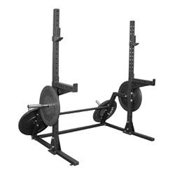 Suporte Cavalete P/ Anilha Olímpica + Sup de barra... - Equipamentos Line Fitness