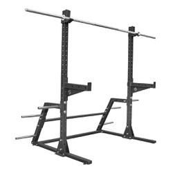 Suporte Cavalete + Barra 2,20 mts + Sup barra + Su... - Equipamentos Line Fitness