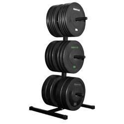 Suporte Vertical p/ Anilhas Olímpicas - Equipamentos Line Fitness