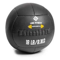 Wall Ball Em Couro Sintético 8kg - Equipamentos Line Fitness