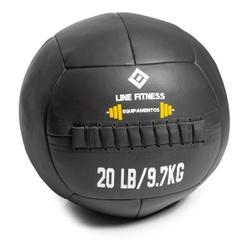 Wall Ball Em Couro Sintético 10kg - Equipamentos Line Fitness