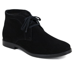 Bota Desert Boots Estilo Chelsea Feminina em Couro... - ESCRETE