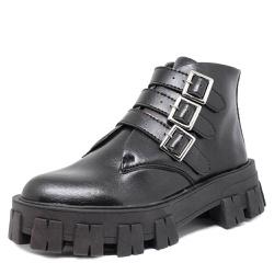 Coturno Tratorado Atena Estilo Veggie Shoes Preto ... - ESTILO VEGGIE SHOES