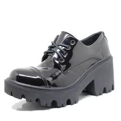 Sapato Estilo Veggie Matilda Verniz Preto - mat02 - ESTILO VEGGIE SHOES
