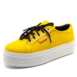 Tênis Cano Baixo Estilo Veggie Amarelo - ama01 - ESTILO VEGGIE SHOES