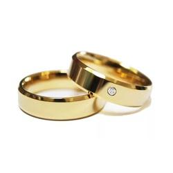 Alianças Pace 6mm ♥ Casamento E Noivado Tungstênio... - FABILE