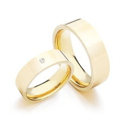 Alianças Pacifico 6mm ♥ Casamento E Noivado Tungst... - FABILE