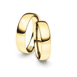 Alianças Aracaju ♥ Casamento e Noivado em Ouro 18K... - FABILE