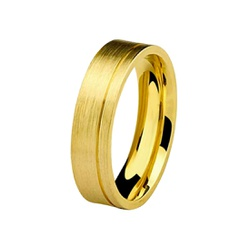 Aliança Individual De Ouro 18k 5mm Anatômica - 102... - Fábrica do Ouro