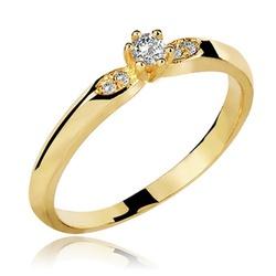 Anel De Ouro 18k Com Zircônias - 101259 - Fábrica do Ouro
