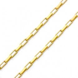 Pulseira De Ouro 18k Veneziana Longa De 2,4mm Com ... - Fábrica do Ouro