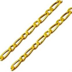 Corrente De Ouro 18k Groumet 1x1 De 2,5mm Com 45cm... - Fábrica do Ouro
