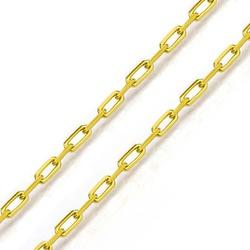 Corrente De Ouro 18k Cartie De 0,9mm Com 50cm - 10... - Fábrica do Ouro