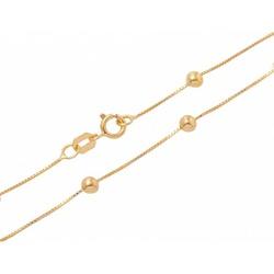 Corrente De Ouro 18k Veneziana Com Bolinhas De 5,0... - Fábrica do Ouro