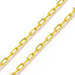 Corrente De Ouro 18k Cartie De 1,0mm Com 40cm - 10... - Fábrica do Ouro