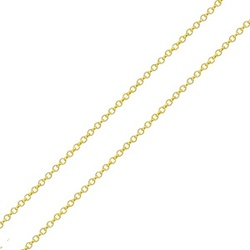 Corrente De Ouro 18k Elo Português De 1mm Com 60cm... - Fábrica do Ouro