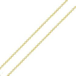 Corrente De Ouro 18k Elo Português De 1mm Com 45cm... - Fábrica do Ouro