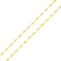Corrente De Ouro 18k Coffee De 1,6mm Com 45cm - 10... - Fábrica do Ouro