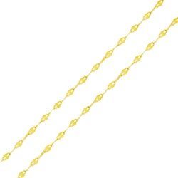 Corrente De Ouro 18k Coffee De 1,6mm Com 40cm - 10... - Fábrica do Ouro