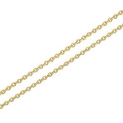 Corrente De Ouro 18k Italiana De 2,5mm Com 45cm - ... - Fábrica do Ouro