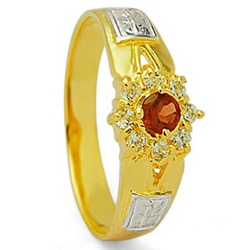 Anel De Formatura De Ouro 18k - Feminino - 100327 - Fábrica do Ouro