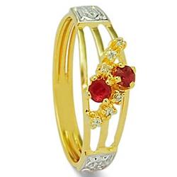 Anel De Formatura De Ouro 18k Turquia - Feminino -... - Fábrica do Ouro