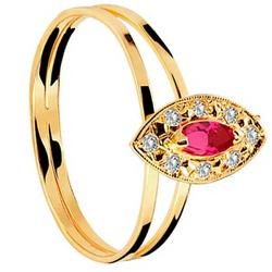 Anel De Formatura De Ouro 18k Tailândia - Feminino... - Fábrica do Ouro