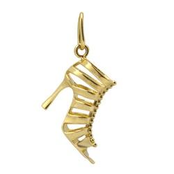 Pingente De Ouro 18k Sandália - 100289 - Fábrica do Ouro