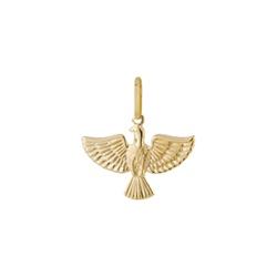Pingente De Ouro 18k Espírito Santo De 11mm - 1004... - Fábrica do Ouro