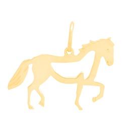 Pingente De Ouro 18k Cavalo - 100809 - Fábrica do Ouro